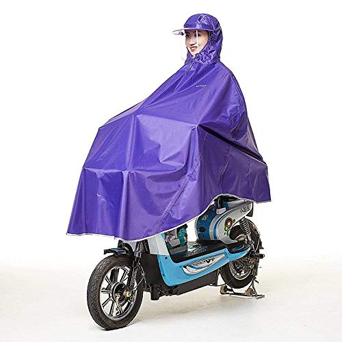 2 Man Bicicleta Traje Capa Antidescenso Woman Gruesa Battercake Poncho Mujeres Uno Coche Impermeable Eléctrico Motocicleta Casuales q1aATUwxZn