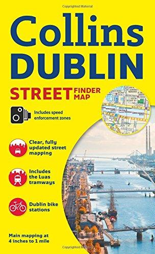Collins Dublin Streetfinder Colour Map|-|0008158657