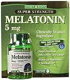 Nature's Bounty Super Strength Melatonin 5 mg (250 softgels)