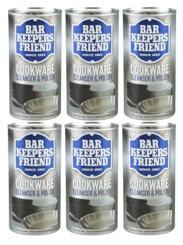 how to clean stainless steel pans with bar keepers friend
