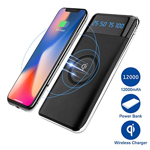 6. Quick Charge Portable Wireless Charger for Galaxy S10+
