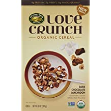 Nature's Path Love Crunch Organic Cereal, Dark Chocolate Macaroon, 6 Count