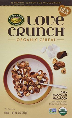 Nature's Path Love Crunch Organic Cereal, Dark Chocolate Macaroon, 6 Count Dark Chocolate Flake