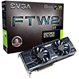 EVGA 6GB GDDR5 GeForce GTX 1060 FTW2 DT Gaming Graphic Card 06G-P4-6766-KR