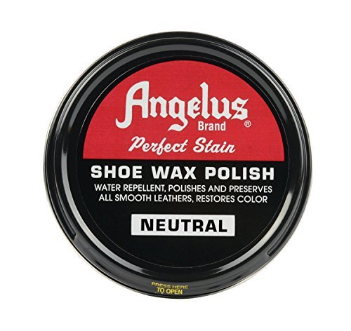 Angelus Shoe Wax Polish 3fl Oz ( Color Variety) (Neutral)]()