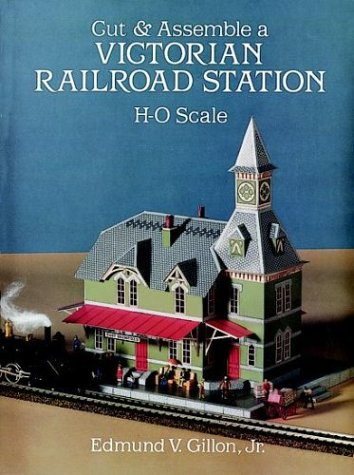 rian Railroad Station (Cut & Assemble Buildings in H-O Scale) ()
