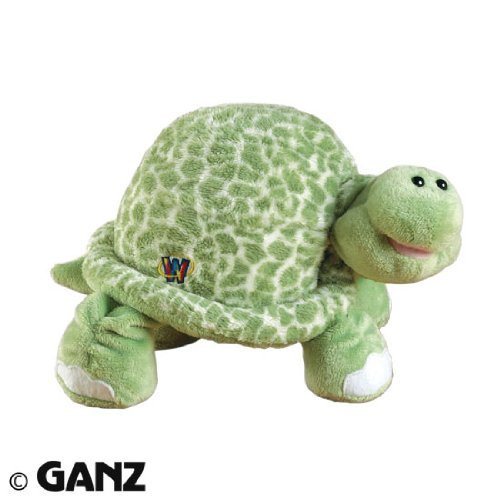 Webkinz Spotted Turtle with Magnetic Bookmark