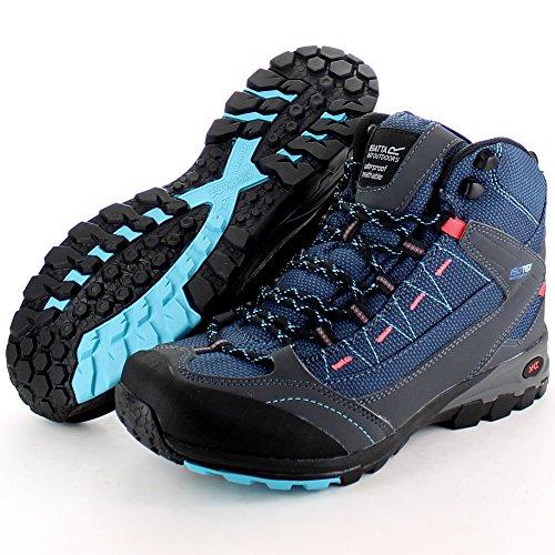 Boots Blue Mid Regatta Azul Breathable max Ultra Waterproof Ladies Walking OOR80