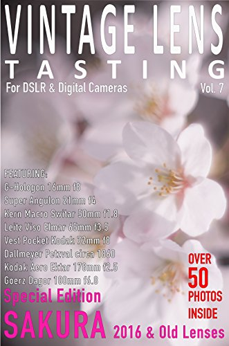 VINTAGE LENS TASTING Vol.7: Sakura 2016  Special Edition for sale  Delivered anywhere in USA