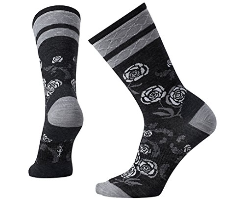 Smartwool Women's Rosey Posey Crew Socks Small