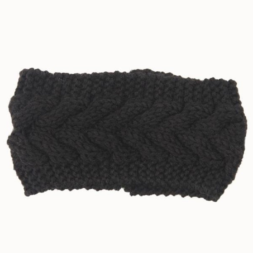 Great for the Cold Winter Weather. Bohemian Headband One Size, Black