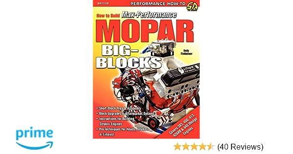 How to Build Max-Performance Mopar Big-Blocks: Andy