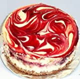 "Scott's Cakes 8"" Cherry Swirl Cheesecake"