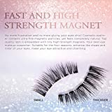 Magnetic Eyelashes with Magnetic Eyeliner Kit, with Applicator and Mirror for Easy Application, 2 Pairs