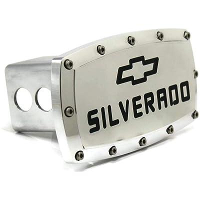Chevrolet Silverado Billet Aluminum Tow Hitch Cover: Automotive