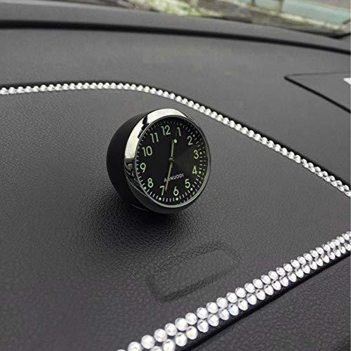 Montre analogique /à Quartz BAAQII Horloge /à retardement pour Voiture Tableau de Bord air Noir