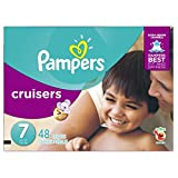 Pampers Size 7 Cruisers Diapers, 48 Count