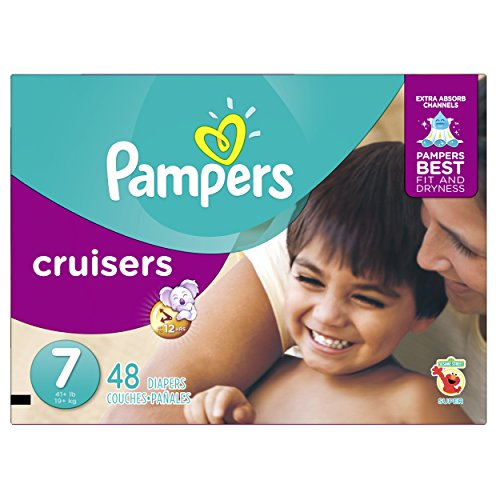 Pampers Size 7 Cruisers Diapers  48 Count