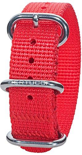 Bertucci DX3 B-150 16mm International Orange Nylon Watch Band
