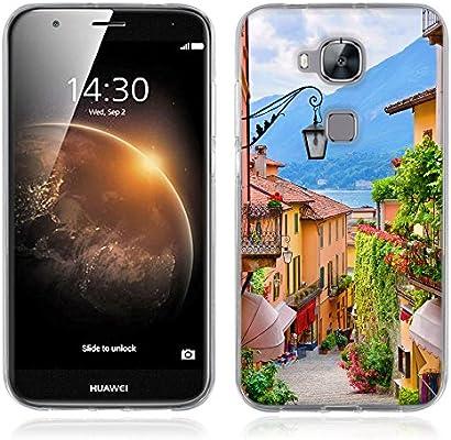 FUBAODA Funda para Huawei Ascend G8/G7 Plus Serie Hermosa y ...