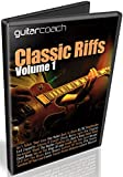 Guitar Riffs Volume 1: Learn & Master 14 Popular Guitar Riffs - Includes Detailed Step By Step Video Lessons, Full Tabs & Backing Tracks