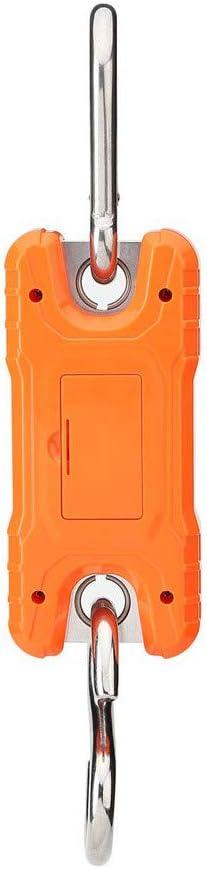 SNOWINSPRING Kranwaage Tragbare 500 Kg 1000 Lb Hochleistung Digital H?Ngewaage LCD Display mit Hintergrundbeleuchtung f/ür Den Heimischen Bauernhofmarkt Angeln Jagd Orange