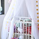 Hoomall Mosquito Net Bed Canopy Round Lace Dome
