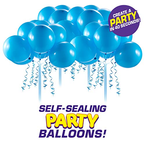 Bunch O Balloons Self-Sealing Latex Party Balloons (32 X Blue 11In Balloons) (Custom Pack) (Bunch O Balloons 100)