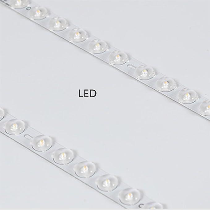 zzatt techo Leuchten Nordic Creativo de techo lámpara Madera Acrílico lámpara pantalla LED blanco luz redondas Dormitorio Decoración Ø30 cm: Amazon.es: Bebé