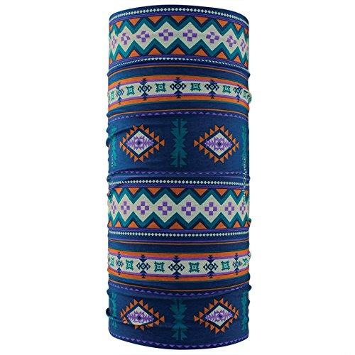 Zanheadgear Motley Tube, 100% Polyester, Saddle Blanket