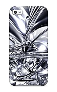 Ideal ZippyDoritEduard Case Cover For Iphone 5c(silver), Protective Stylish Case