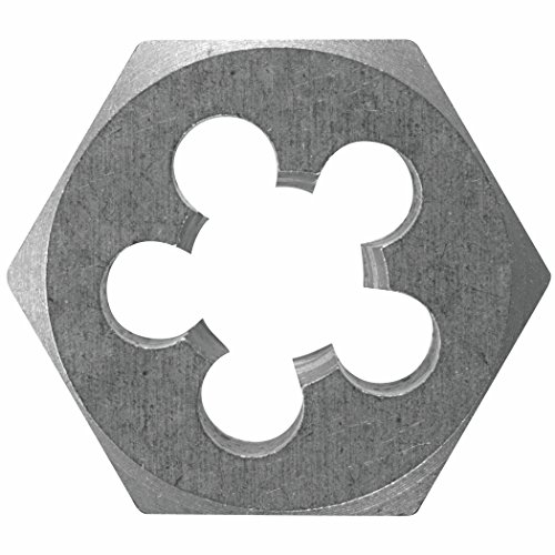 Bolts Hex Vermont American - Vermont American 20730 5/8-Inch to 11 National Coarse High Carbon Steel Fractional Heby Die