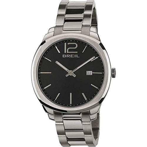 BREIL Watch Clubs Male Only Time Black Stainless steel - TW1713