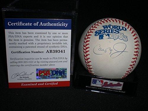 Cal Ripken Jr. Autographed Signature 1983 World Series Baseball Orioles PSA/DNA Certified ()