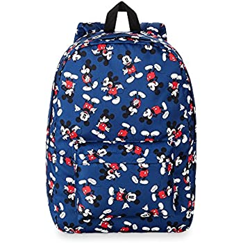 Amazon Com Disney Store Mickey Mouse All Over Backpack For Adults Casual Daypacks