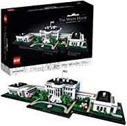 LEGO Architecture Collection: The White House 21054 Model Building Kit, Creative Building Set for Adults, A Re