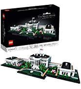LEGO Architecture Collection: The White House 21054 Model Building Kit, Creative Building Set for...