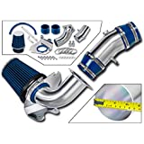Intake Pipe Performance Cold Air Intake Induction Kit With Filter Red For 1994-1995 Ford Mustang GT//GTS 5.0L V9