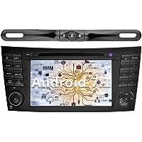 YINUO 7 inch Android 7.1.1 Nougat Quad Core Car Stereo HD Touch Screen Car Radio GPS Navigation for Mercedes-Benz E-W211/E200/E220/E240/E270/E280,CLS-W219/CLS,CLK