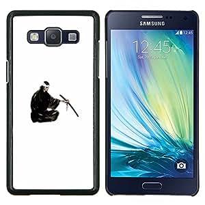 Gaga Case / Japanese Samurai For Samsung Galaxy A5 A5000 A5009 Duro Snap en el tel???¡¯????fono celular de la cubierta