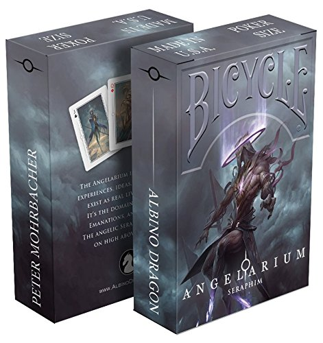 Albino Dragon Angelarium - Seraphim Playing Cards