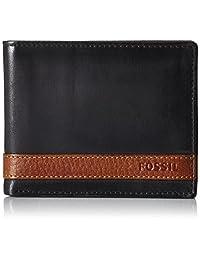Fossil Men's Quinn Bifold with Flip ID Wallet