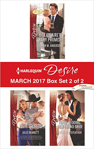 book cover of Harlequin Desire March 2017 - Box Set 2 of 2