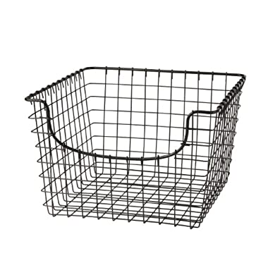 Spectrum Diversified 98976 Scoop Basket, Medium, Industrial Gray