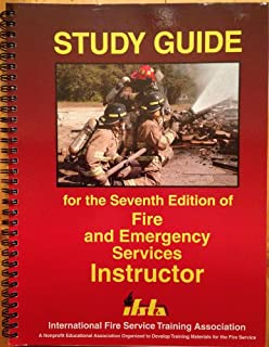 Fire and emergency services instructor. 7th edition.