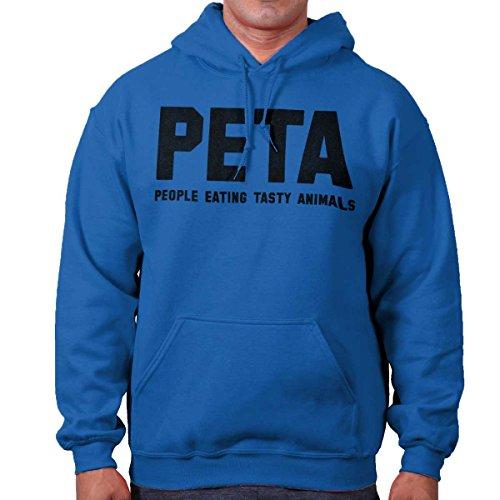 People Eating Tasty Animals (PETA People Eating Tasty Animal Funny Shirt   Adult Gift Idea Hoodie Sweatshirt)