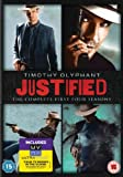 Justified (Complete Series 1-4) - 12-DVD Box Set ( Lawman ) (+ UV Copy) [ NON-USA FORMAT, PAL, Reg.2 Import - United Kingdom ]