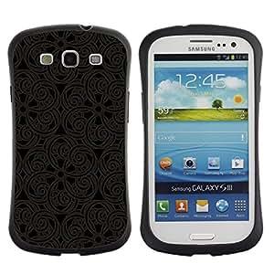 Suave TPU GEL Carcasa Funda Silicona Blando Estuche Caso de protección (para) Samsung Galaxy S3 I9300 / CECELL Phone case / / Pattern Oriental Carving Lace Interior Design Art /