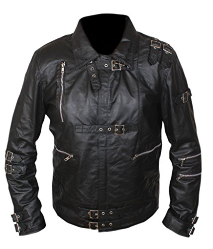 F&H Men's Michael Jackson Bad Jacket 2XL