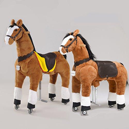 UFREE Large 44''mechanical ride on horse PLUS UFREE Medium 36'' mechanical ride on horse BUNDLE